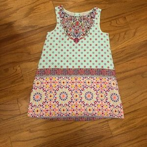 Girls tunic sun dress